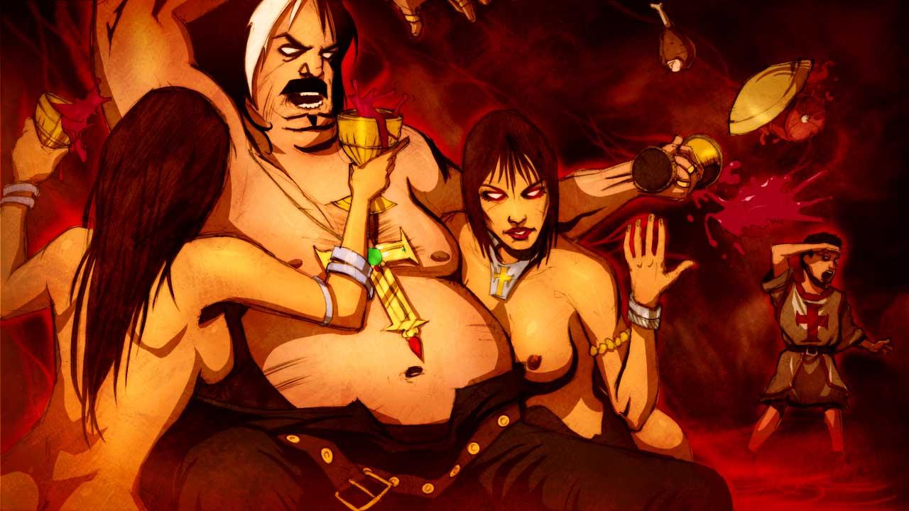 Sexszene in Dantes Inferno
