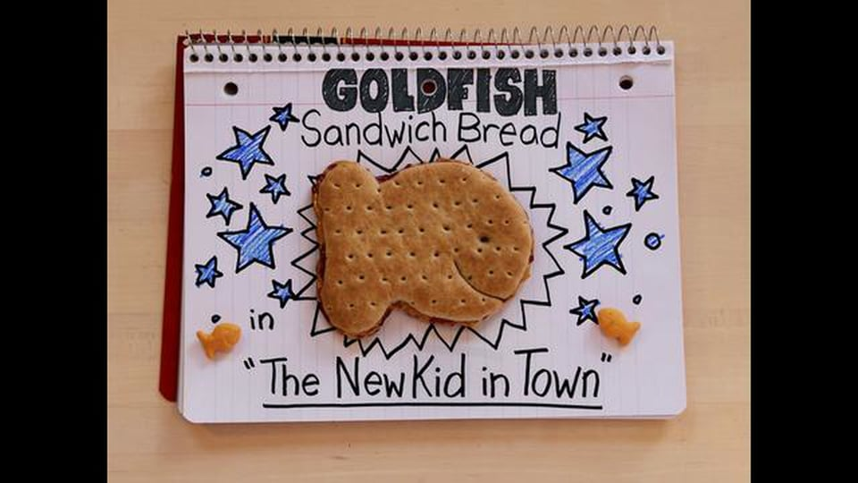 "Goldfish Sandwich Bread ""The New Kid"" - Vimeo thumbnail"