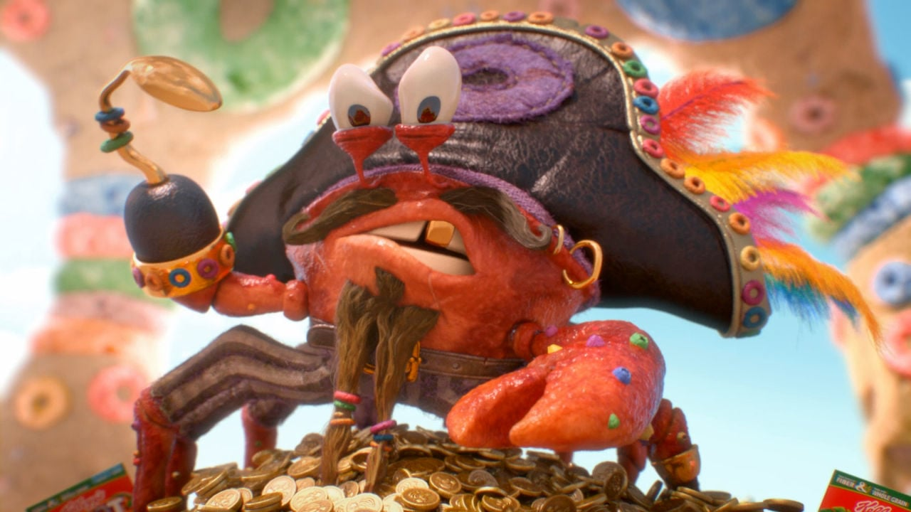 "Kellogg's® Froot Loops® ""Carl the King Crab"" - Vimeo thumbnail"