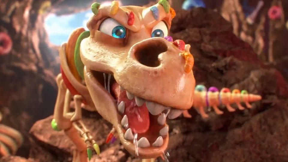 """Kellogg's® Froot Loops® """"Dino Dig"""" - Vimeo thumbnail"""